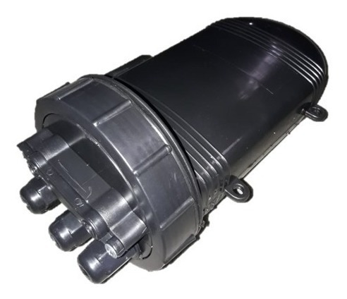 Caixa P/ Emenda Óptica 12 Fo (3 Unid.)- Preta
