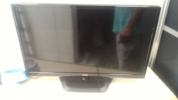 Tv 29 Lg De Led Funcionando Display Trincado.