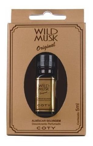 Wild Musk Almiscar Selvagem Óleo Perfumado 5ml