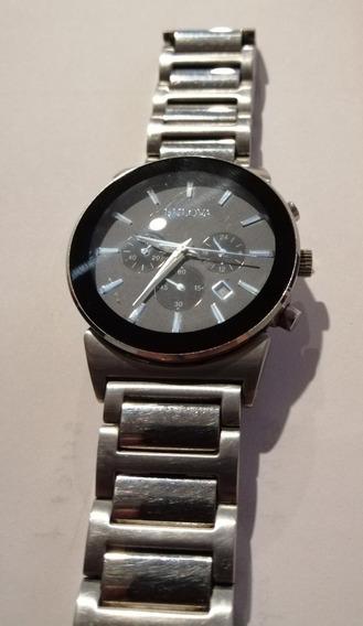 Reloj Análogico Bulova 96b203 Para Caballero Cuarzo
