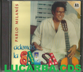 Cd - Pablo Milanes - Ademas La Salsa - Lacrado