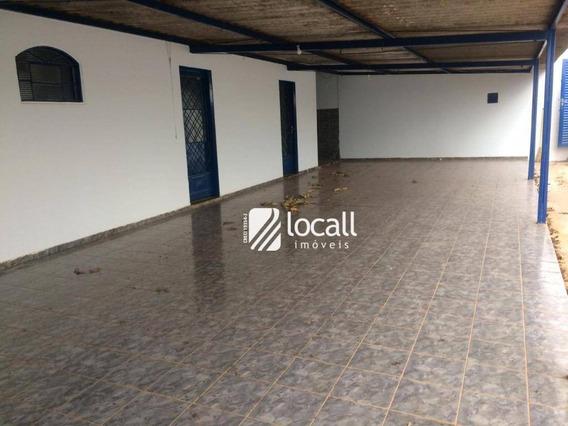 Casa Com 1 Dormitório Para Alugar, 40 M² Por R$ 850/mês - Vila Toninho - São José Do Rio Preto/sp - Ca2102