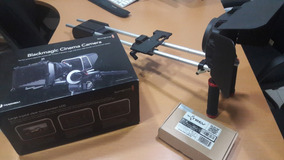 Kit De Cinema Blackmagic 2.5k + Bateria Externa + Rig