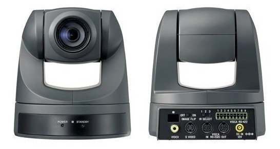 Sony Evi D70 Ptz Wall And Ceiling Camera + Controle