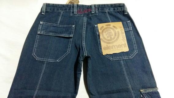 Linda Calça Fem.element,jeans,nova,cint.baixa,36,flare.