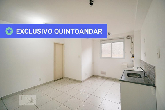 Apartamento No 2º Andar Com 1 Dormitório - Id: 892956403 - 256403