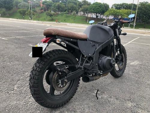 Moto Cafe Racer Suzuki Gs500