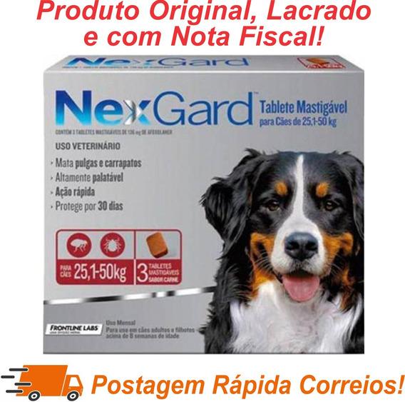 Nexgard Gg Antipulgas E Carrapatos 25 A 50kg C/3