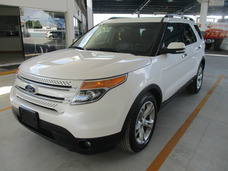 Ford Explorer Limited, Aut, A/c, Color Blanco, Modelo 2015