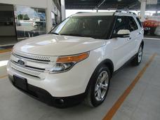 Ford Explorer Limited, Aut, A/c, Color Blanco, Modelo 2015