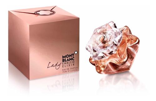 Perfume Mont Blanc Lady Emblem Elixir E - L a $2213