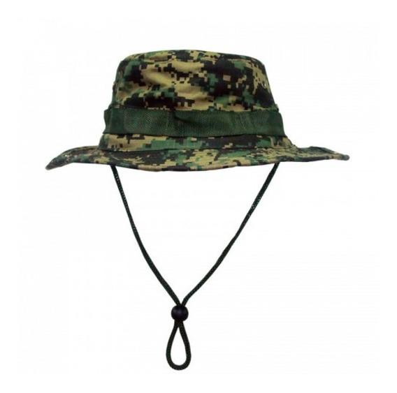 Chapéu Boonie Hat Camuflado Marpat Proteção Uv 50
