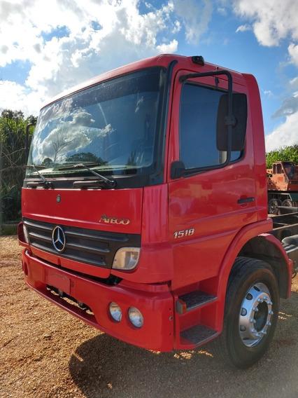 Caminhão Atego Mb 1518 Toco Mercedes Benz