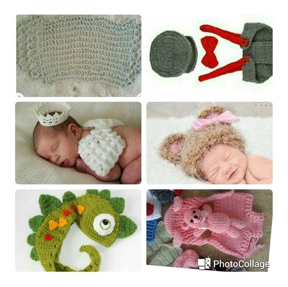 Kit Acessórios Para Fotografia Newborn