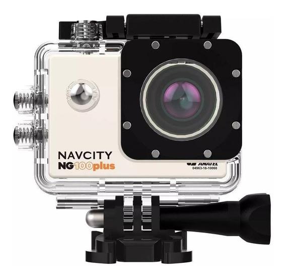 Câmera Esportiva Go 4k Full Hd Navcity Ng100 Pl