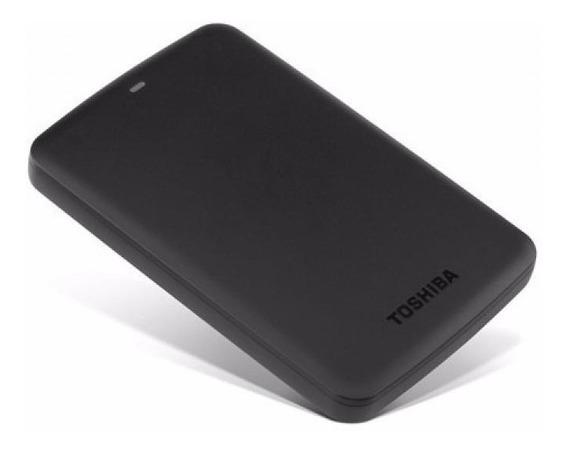 Disco Duro Externo Toshiba 1tb Original Usb 3.0 Canvio Negro