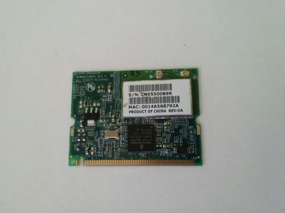 Placa De Rede Wireless Hp V2000