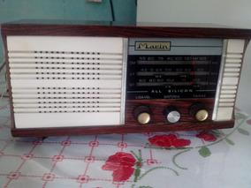 Reliquia Radio Antigo Anos 60 Funcionando .leia Descriçao..