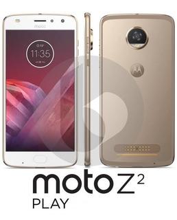 Celular Moto Z2 Play + 2 Snap Jbl E Carregador