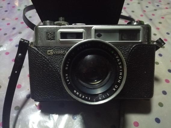 Cámara Fotográfica Yashica Original