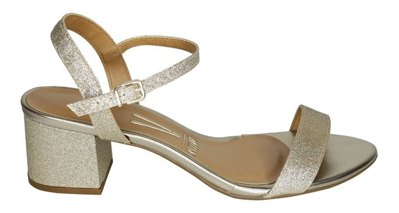Sandalia Baja Vizzano Glitter Modelo 6291 Verano