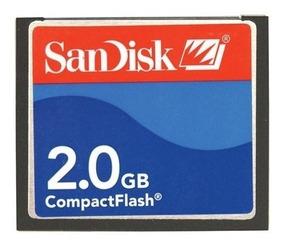 Cartão Memória Compact Flash 2gb Sandisk