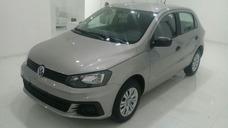 Volkswagen Gol Trendline 1.6 5 Puertas Gris Plata 2018 0km