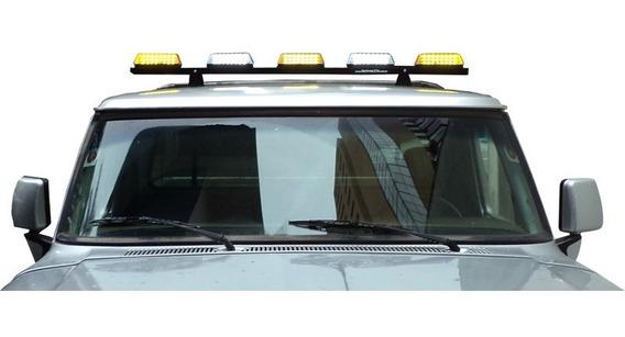 Giroflex De Leds 5 Módulos 1,5m P Guincho Ambulância Socorro