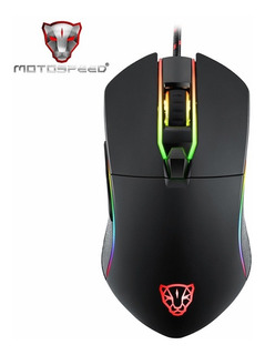 Motospeed V30 Gaming Gamer Mouse Usb Con Luz Led Plug Play