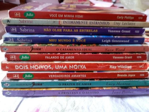 Livros De Romance Julia/ Sabrina Usado Antigos