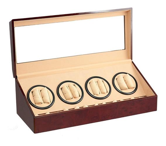Caja / Alahajero Para Almacenar 8 Reloj Automáticos Msi