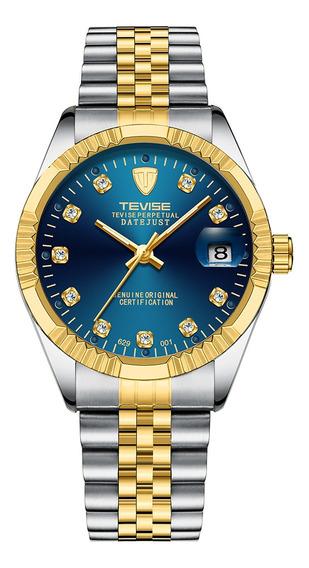 Tevise Marca De Los Hombres Relojes De Moda Reloj De Pulsera