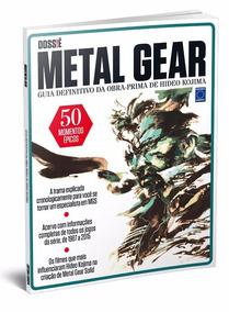 Revista Dossiê Metal Gear Novo Lacrado Frete R$ 10,00
