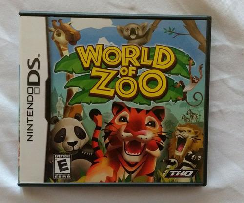 Nintendo Ds World Of Zoo.
