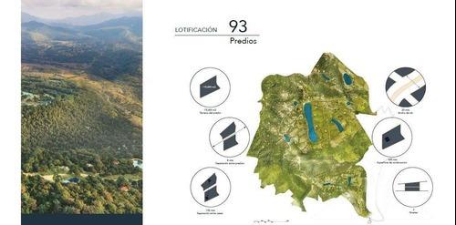 En Venta Terrenos En Extraordinario Residencial En Valle De Bravo (dm)
