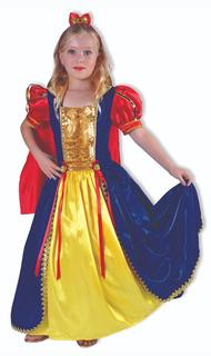Disfraz La Princesa Mas Bella Niña