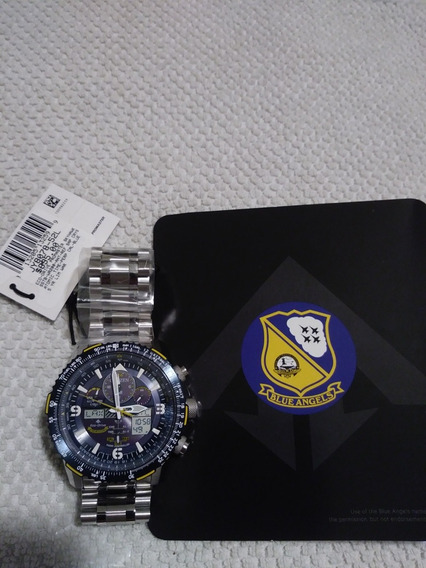 Relogio Citizen Jy 8078 -52l Novo Blue Angels /relog Dos Usa