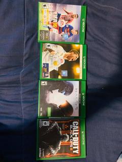 Paquete De 4 Juegos De Xbox One.