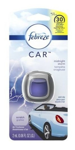 Febreze Car Desodorante Para Auto Midnight Storm X 2 Ml