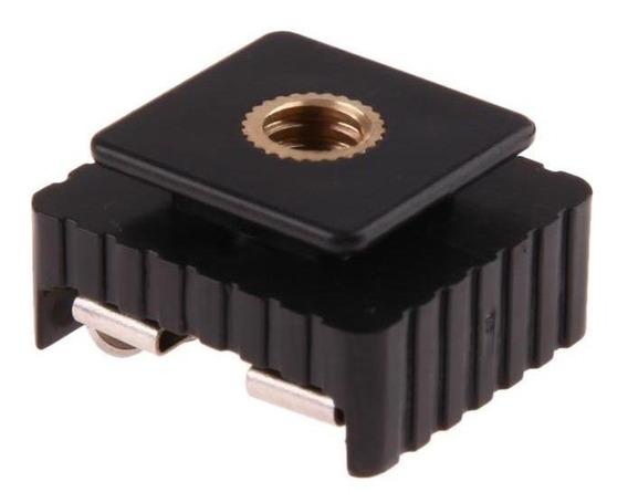 Hot Shoe Adaptador 1/4 Parafuso Para Canon/sony Dslr Camera