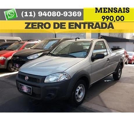 Fiat Strada Working Hard 1.4 Fire Flex 2019 Zero De Entrada
