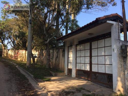 Chácara À Venda, 1184 M² Por R$ 610.000,00 - Recreio Primavera - Itapecerica Da Serra/sp - Ch0062