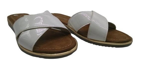 Zueco Tira Cruzad Baja Goma Zapatos Sandalia Savage Al-140