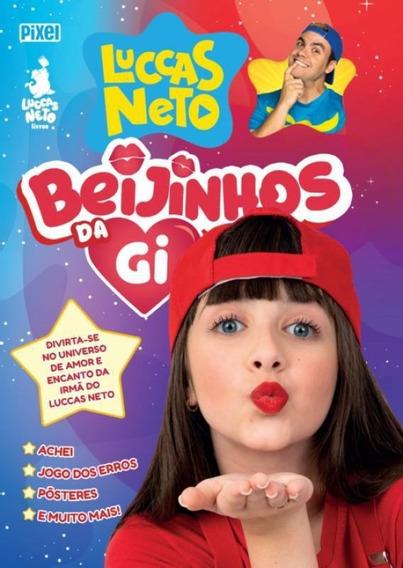 Livro Beijinhos Da Gi