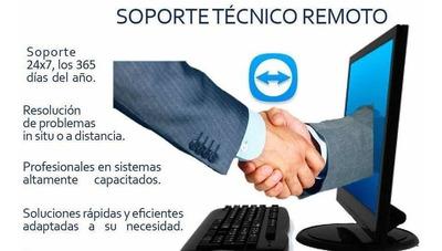 Soporte Y Servicio Tecnico Remoto Pc/notebook
