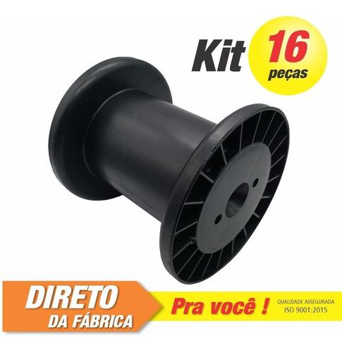Imagem 1 de 3 de Carretel Abnt Nº04 - Kit C/ 16 Peças