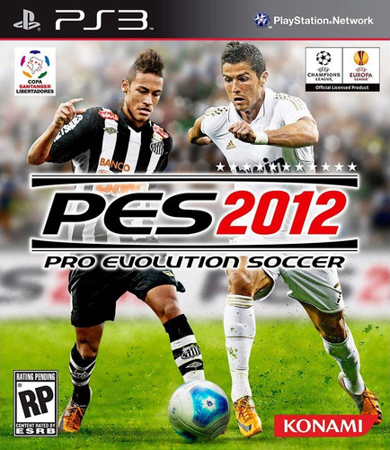 Game Ps3 Pes 2012