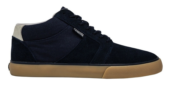 Zapatillas Rail Mid2 Dark Navy Gangsta