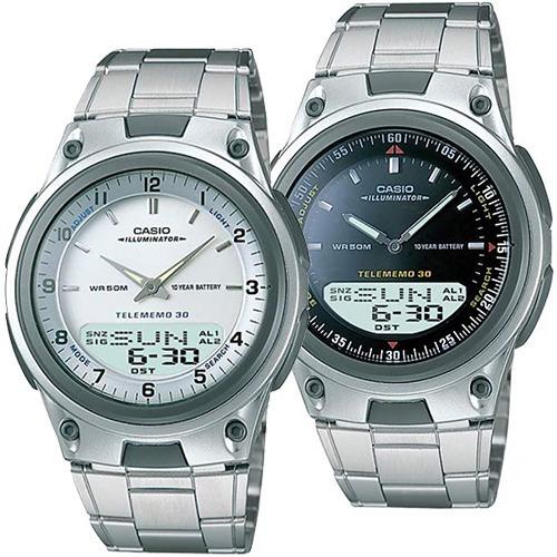 Reloj Casio Aw80 Metal Sumergible - 30 Memorias - Luz -