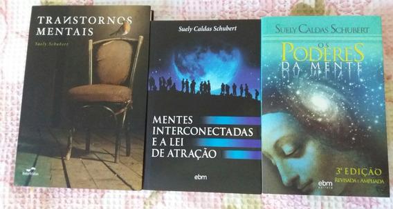Lote Com 03 Livros (suely Caldas Schubert) ***imperdível***